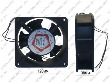 Вентилятор на сварочный (металлический, широкий)