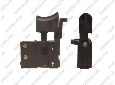 Кнопка сетевой шуруповерт с тонким фиксатором