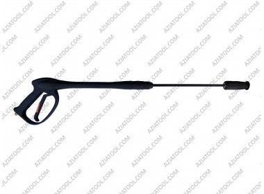 Пистолет на мойку на резьбе металлический (чёрный)